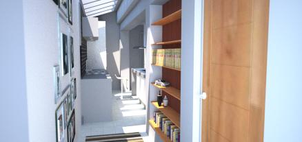 New entrance corridor
